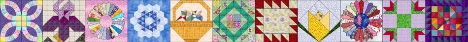 summer garden quilt blocks